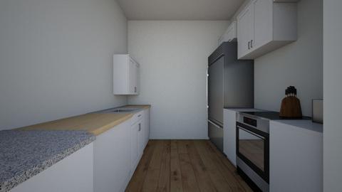 apartment kitchen - Kitchen  - by ajones1