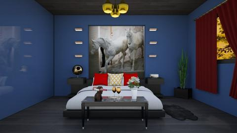 Dormitorioremix - Bedroom - by Teresa Valdes Beso