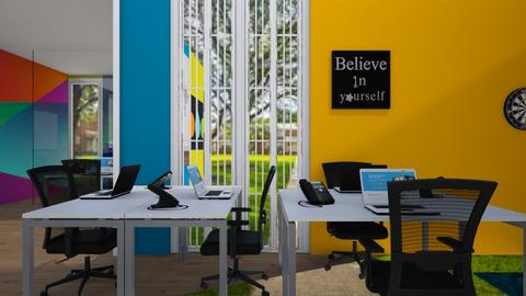Backyard View - Office  - by Jeycie Designs