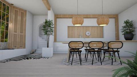 n a t u r a l - Modern - Dining room  - by Marlisa Jansen
