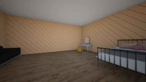 peach room - Bedroom  - by 1008984