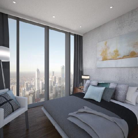 La Trobe_bedroom_pano_pr - Bedroom - by timknip