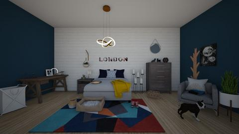 collage bed - Bedroom  - by brooklyn128