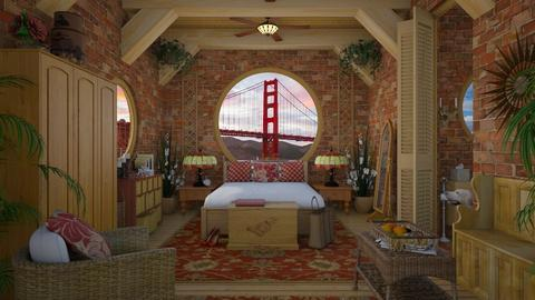 Design 163 Her Loft - Bedroom  - by Daisy320