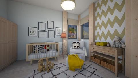zig zag room - Kids room - by nuray kalkan