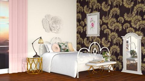 art nouveau - Bedroom  - by tigeriffic