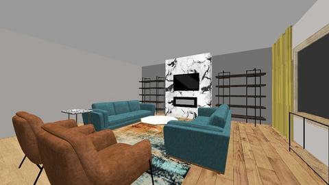 living room design - Modern - Living room  - by adina_fele