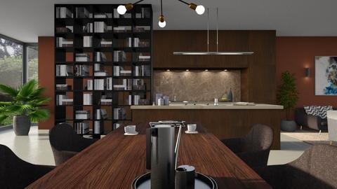 589 - Modern - Kitchen  - by Claudia Correia