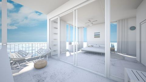 Minimalistic Beach Home - Minimal - Bedroom  - by Sophia Cooper