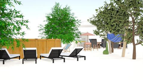 Backyard - Modern - by sherrylizhu
