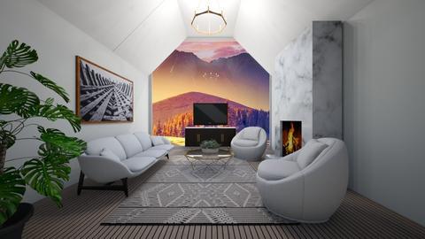 Winter Living - Living room  - by Skwood
