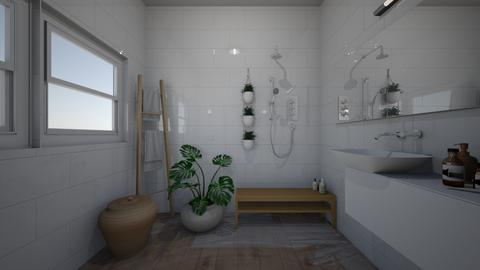bathroom studio 2 - Minimal - by BlokhEphroni
