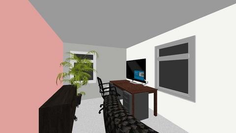 Study - Office - by twistedlogick