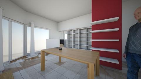 Aqua - Rustic - Office  - by mikemikeska
