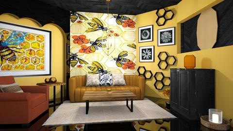 bee inspired - Living room  - by zayneb_17