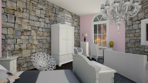vintage girl room1 - Vintage - by Jade w