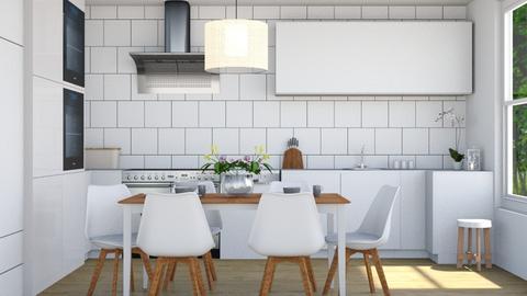 Scandinavian kitchen - Kitchen  - by anamarijag00