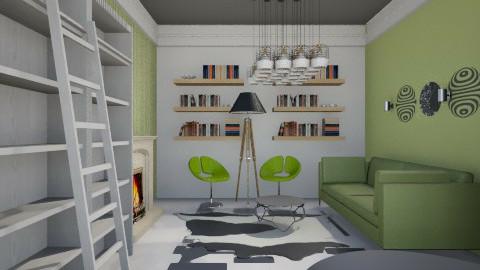 Kiwi class - Classic - Living room  - by Evangeline_The_Unicorn