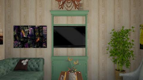 Room 2 - Living room  - by CharlotteKelley