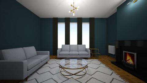Azure - Living room  - by chrometoaster