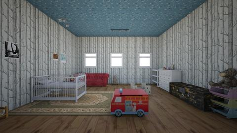 Baby Room - Country - Kids room  - by kittytarg