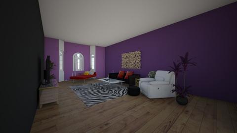 My moms creation - Living room - by HannahDesgins