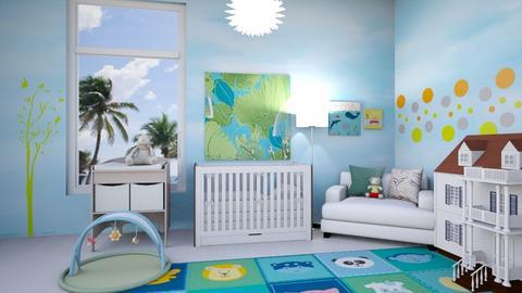 nursery - Kids room  - by ashpashly