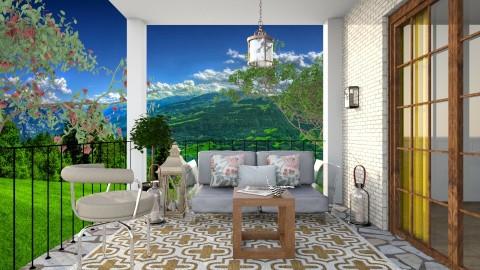 Mountain Balcony - Modern - Garden  - by 3rdfloor