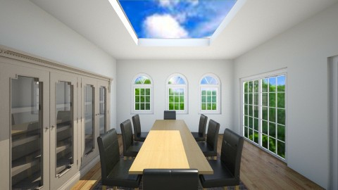 Skylight - Modern - Dining room - by thebye