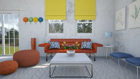 Color me up - Eclectic - Living room  - by Faye Dela Cruz