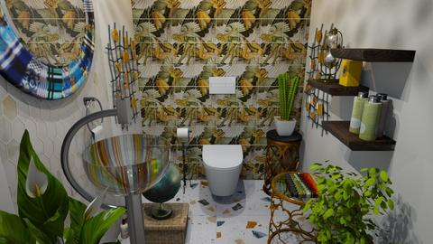 toilet - Bathroom  - by Moonpearl