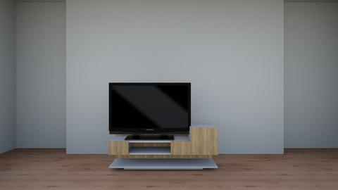 Blender blueprint 1 - Living room - by Youssef Deif