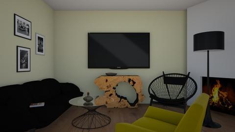 sofi j - Modern - Living room  - by sjanevska