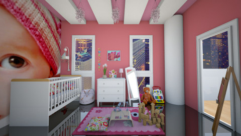 baby room - Modern - Kids room  - by christoforos