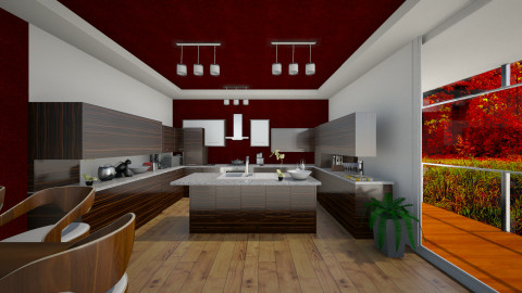Bordeaux kitchen - Modern - Kitchen  - by Gre_Taa