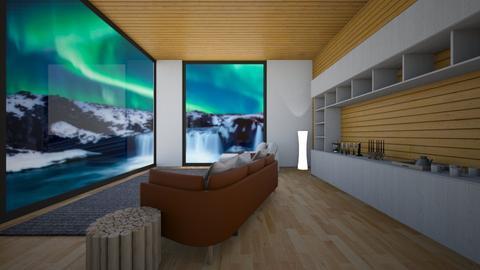 Northern Living room 2 - Rustic - Living room  - by kay91designs