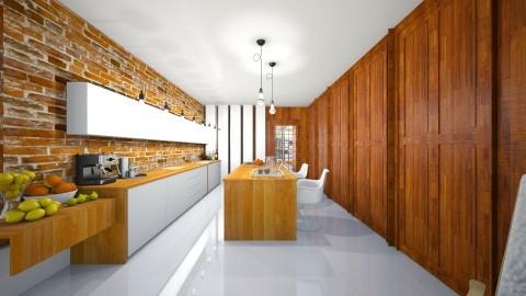 Statement Kitchen - Modern - Kitchen  - by camilla_saurus