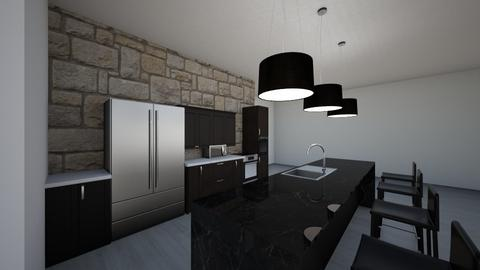 Kitchen Dining Great Room - Kitchen  - by MArenaud22
