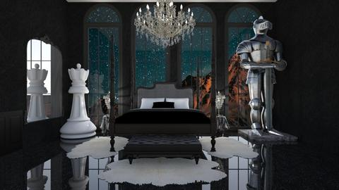 star gazer  - Classic - Bedroom  - by rcrites457