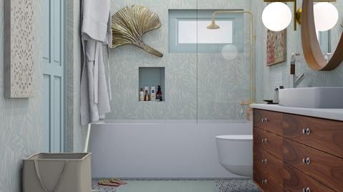 small bathroom - Rustic - Bathroom - by HenkRetro1960