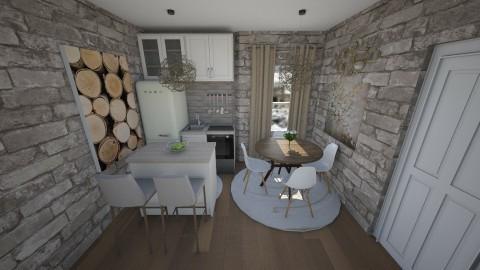 casa piccola - Classic - Kitchen  - by paolosingapore44