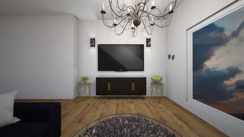 minimalist  - Living room  - by _friedmomo_