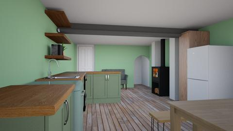 Rotate kitchen extension - Kitchen - by amerongomes