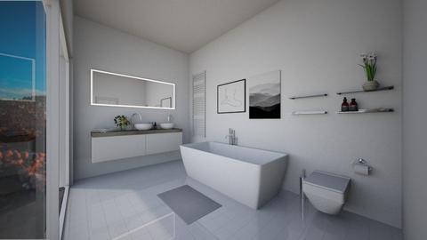 bathroom  - Modern - Bathroom  - by freewillie