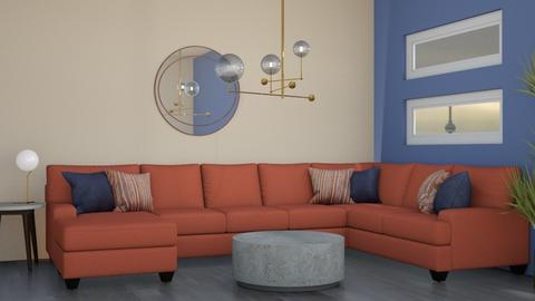 Circle - Living room  - by chocolatedonut71