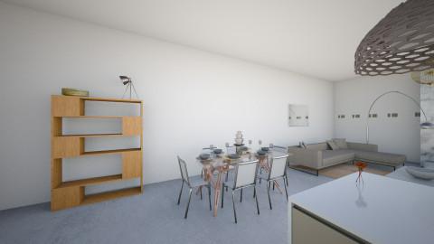 concrete - Kitchen - by helenadw