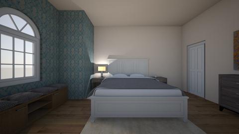 test room  - Bedroom - by beazaleski