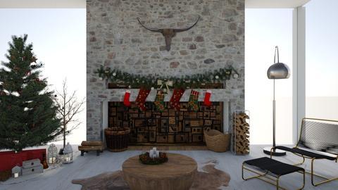 polar - Modern - Living room  - by nazlazzhra
