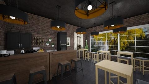 coffee shop - Dining room  - by Metapor Tammapot
