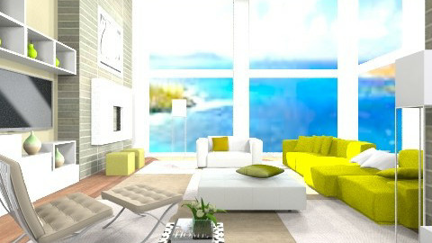 Airy Cubic - Modern - Living room - by reddy121